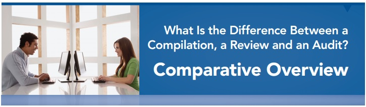Difference between Compilations Reviews and Audits